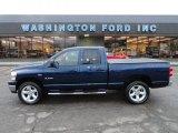 2008 Patriot Blue Pearl Dodge Ram 1500 Big Horn Edition Quad Cab 4x4 #56564200