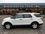 2011 White Suede Ford Explorer FWD #56564185