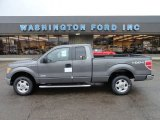 2011 Sterling Grey Metallic Ford F150 XLT SuperCab 4x4 #56564170