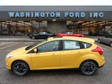 2012 Yellow Blaze Tricoat Metallic Ford Focus SE Sport 5-Door #56564168