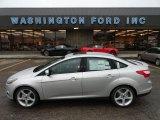 2012 Ingot Silver Metallic Ford Focus Titanium Sedan #56564167