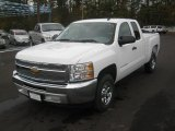 2012 Summit White Chevrolet Silverado 1500 LS Extended Cab #56564403