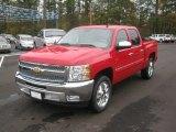 2012 Victory Red Chevrolet Silverado 1500 LT Crew Cab #56564402