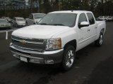 2012 Summit White Chevrolet Silverado 1500 LT Crew Cab #56564400