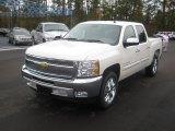 2012 White Diamond Tricoat Chevrolet Silverado 1500 LT Crew Cab #56564397