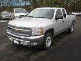 2012 Silver Ice Metallic Chevrolet Silverado 1500 LT Extended Cab #56564396
