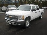 2012 White Diamond Tricoat Chevrolet Silverado 1500 LT Crew Cab 4x4 #56564395