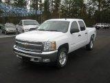 2012 Summit White Chevrolet Silverado 1500 LT Crew Cab 4x4 #56564392