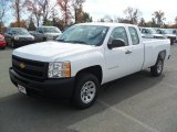 2012 Summit White Chevrolet Silverado 1500 Work Truck Extended Cab #56564382