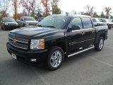 2012 Black Chevrolet Silverado 1500 LTZ Crew Cab 4x4 #56564380