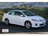 2011 Super White Toyota Corolla S #56563885