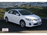 2011 Super White Toyota Corolla S #56563882