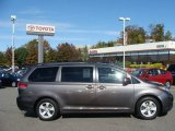 2011 Predawn Gray Mica Toyota Sienna LE #56564130