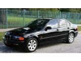 2001 Jet Black BMW 3 Series 325i Sedan #56564096