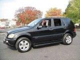 2005 Black Mercedes-Benz ML 350 4Matic #56610385