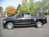 2004 Black Dodge Ram 1500 SLT Sport Quad Cab 4x4 #56610357