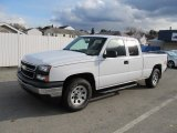2006 Summit White Chevrolet Silverado 1500 LS Extended Cab 4x4 #56610797