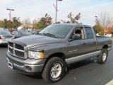 2005 Mineral Gray Metallic Dodge Ram 1500 SLT Quad Cab 4x4 #56610770