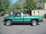 2000 Meadow Green Metallic Chevrolet Silverado 1500 LS Regular Cab 4x4 #56610336
