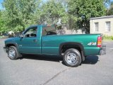2000 Chevrolet Silverado 1500 Meadow Green Metallic