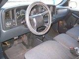 2000 Chevrolet Silverado 1500 LS Regular Cab 4x4 Graphite Interior