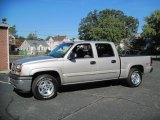 2005 Silver Birch Metallic Chevrolet Silverado 1500 Z71 Crew Cab 4x4 #56610330