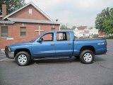 2004 Atlantic Blue Pearl Dodge Dakota SLT Quad Cab 4x4 #56610323
