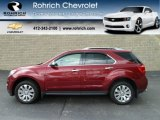 2010 Cardinal Red Metallic Chevrolet Equinox LTZ AWD #56610701