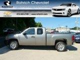 2008 Silver Birch Metallic Chevrolet Silverado 1500 Work Truck Extended Cab #56610698