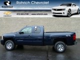 2011 Imperial Blue Metallic Chevrolet Silverado 1500 LS Extended Cab 4x4 #56610670
