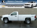 2011 Summit White Chevrolet Silverado 1500 LS Regular Cab 4x4 #56610657