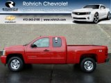 2011 Victory Red Chevrolet Silverado 1500 LT Extended Cab 4x4 #56610655