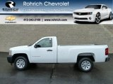 2011 Summit White Chevrolet Silverado 1500 Regular Cab #56610654