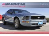 2006 Satin Silver Metallic Ford Mustang V6 Premium Coupe #56610641