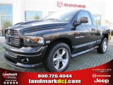 2004 Black Dodge Ram 1500 SLT Rumble Bee Regular Cab #56609742