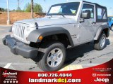 2012 Bright Silver Metallic Jeep Wrangler Sport 4x4 #56609721