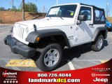2012 Bright White Jeep Wrangler Sport 4x4 #56609719