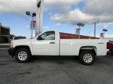 2012 Summit White Chevrolet Silverado 1500 Work Truck Regular Cab 4x4 #56610580