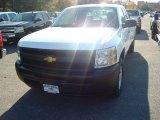 2012 Summit White Chevrolet Silverado 1500 Work Truck Extended Cab 4x4 #56609671