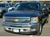 2012 Imperial Blue Metallic Chevrolet Silverado 1500 LT Extended Cab 4x4 #56609665