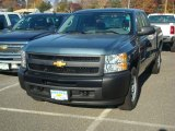 2012 Blue Granite Metallic Chevrolet Silverado 1500 Work Truck Extended Cab 4x4 #56609662