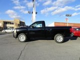 2011 Black Chevrolet Silverado 1500 Regular Cab #56610563