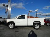 2011 Summit White Chevrolet Silverado 1500 Regular Cab #56610562