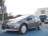 2012 Sterling Grey Metallic Ford Focus SE SFE Sedan #56609645