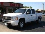 2009 Summit White Chevrolet Silverado 1500 LT Crew Cab 4x4 #56610539