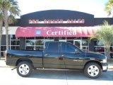 2005 Black Dodge Ram 1500 SLT Quad Cab #56609606