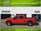 2009 Victory Red Chevrolet Silverado 1500 LT Crew Cab 4x4 #56610457