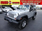 2010 Bright Silver Metallic Jeep Wrangler Rubicon 4x4 #56610084