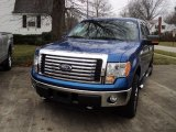 2011 Blue Flame Metallic Ford F150 XLT SuperCrew 4x4 #56610078