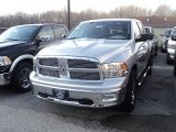 2012 Bright Silver Metallic Dodge Ram 1500 Big Horn Crew Cab 4x4 #56610033